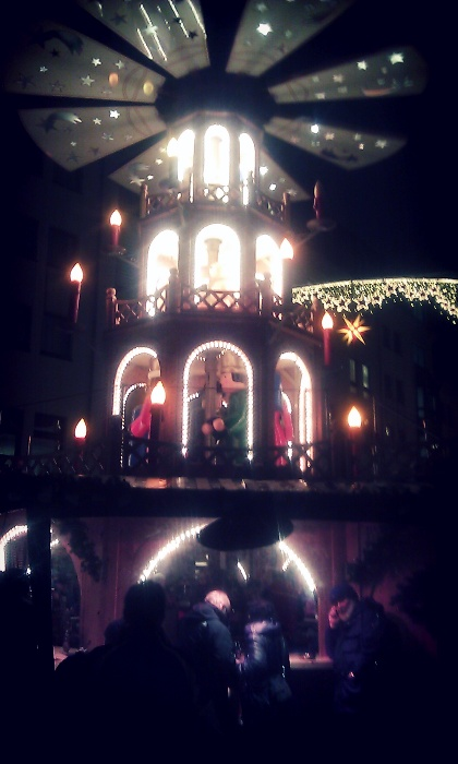 A Christmas Pyramid