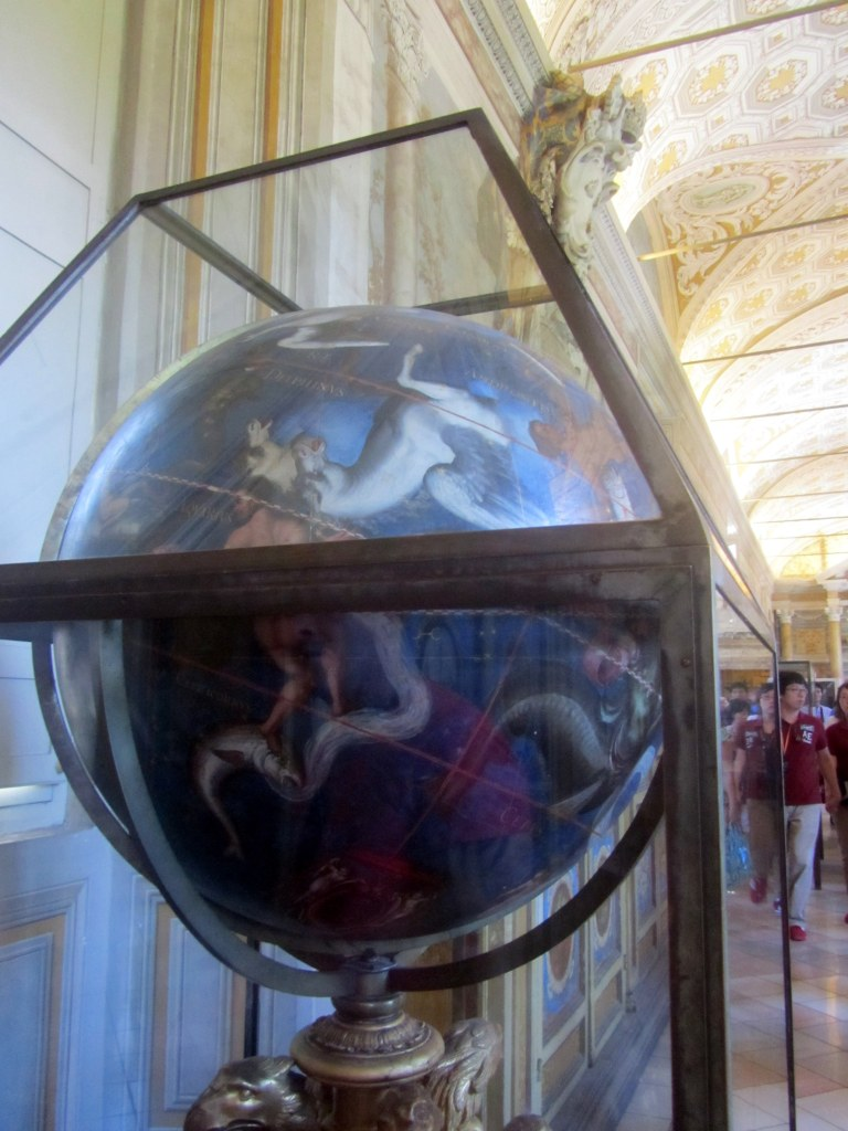 An awesome globe that shows the constellations