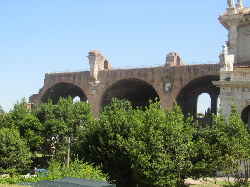 First glance at the Basilica of Maxentius