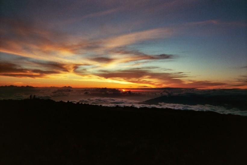 From the top of Haleakalā