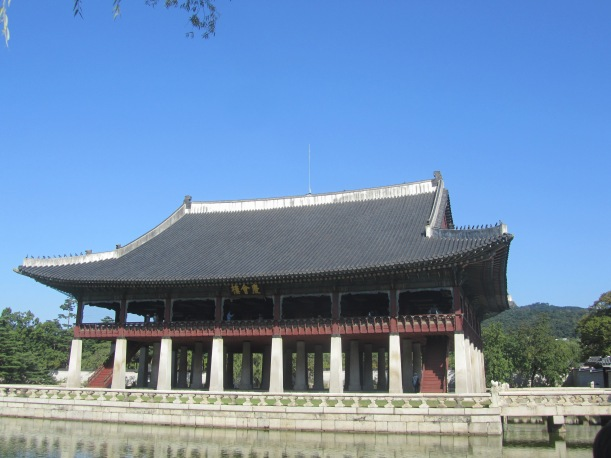 Gyeonghoeru, or pavillion